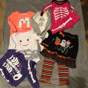 Other - Baby girl Halloween lot